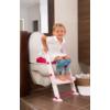 Kép 3/7 - KidsKit WC fellépő lépcső, bili és szűkítő, 3 az 1-ben, fehér-rózsaszín-pink