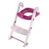 Kép 7/7 - KidsKit WC fellépő lépcső, bili és szűkítő, 3 az 1-ben, fehér-rózsaszín-pink