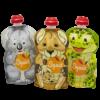 Kép 1/2 - SQUIZ ételtasak, 3 darabos, Ausztrália (Kenguru, Koala, Teknős), 130 ml
