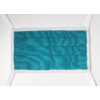 Kép 1/4 - Mosható textil arcmaszk csomag (kék) - 10 db