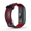 Kép 7/7 - ProWear Band Q8 pulzus-, vérnyomás- és véroxigánmérő vízálló okoskarkötő - Piros