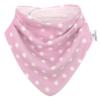 Kép 6/6 - Bibetta nyálkendő dupla nedvszívó réteggel - rózsaszín csillagos