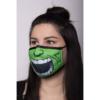 Kép 4/7 - Green Monster félarc arcmaszk