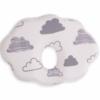 Kép 1/2 - Kikkaboo párna memóriahabos laposfejűség elleni felhő alakú felhőmintás