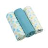 Kép 1/2 - BabyOno textilpelenka színes 3db kék