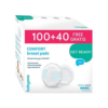 Kép 1/2 - BabyOno melltartóbetét Comfort eldobható 100 plusz 40db