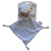 Kép 1/2 - Gamberritos szundikendő plüss buborékos anyagú, hálósapkás maci kék