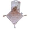 Kép 1/2 - Gamberritos szundikendő plüss buborékos anyagú, hálósapkás maci rózsaszín