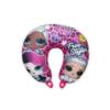 Kép 1/2 - LOL Baba utazópárna kislányoknak - nyakpárna - LOL Surprise Free Styling felirattal - pink