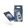 Kép 2/2 - Forradalmian új tisztító matrica mobil telefonra, kék