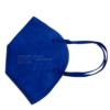 Kép 1/3 - FFP2 színes szelep nélküli maszk - 1 db - KÉK