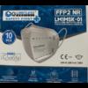 Kép 3/6 - FFP2 Légzésvédelmi szájmaszk - eu szabvány - 10 db