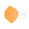 Kép 1/4 - FFP2 színes szelep nélküli maszk - 10 db - NARANCSSÁRGA