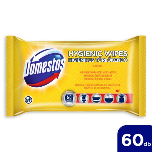 Domestos Higiénikus Törlőkendő Lemon 60db