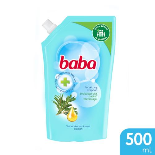 Baba Folyékony Szappan Utántöltő Antibakteriális 500ml