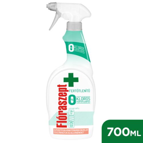 Flóraszept Klórmentes Fertőtlenítő Hatású Univerzális Spray 700ml