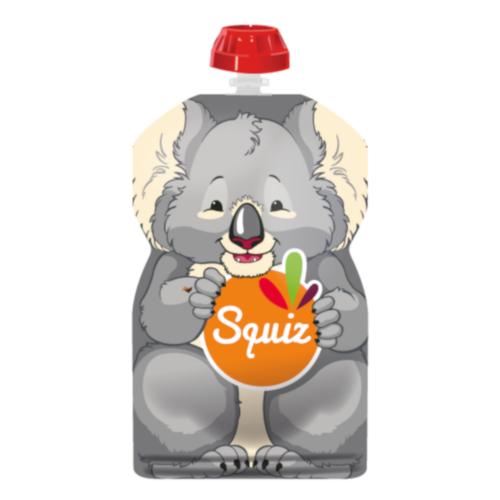 SQUIZ ételtasak, 1 darabos, Koala, 130 ml