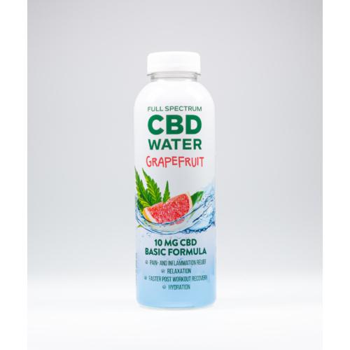 AIDVIAN Full Spectrum CBD Water GRAPEFRUIT 10 mg 500 ml