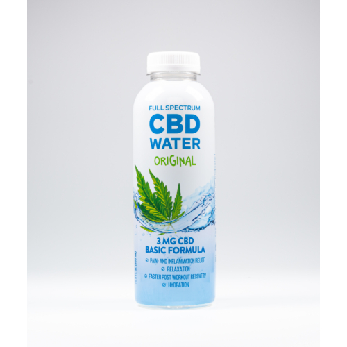 AIDVIAN Full Spectrum CBD Water ORIGINAL 3 mg 500 ml