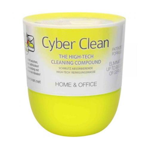 Cyber Clean Alkoholos és Antibakteriális Fertőtlenítő Tisztítómassza, 160g-os, Citrus Illatú, Sárga