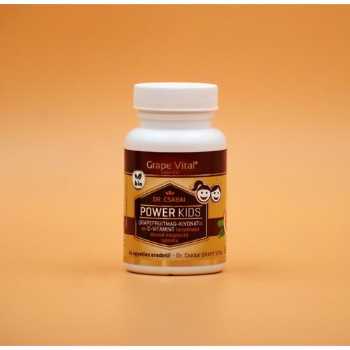 Dr. Csabai Grape Vital® Power Kids tabletta