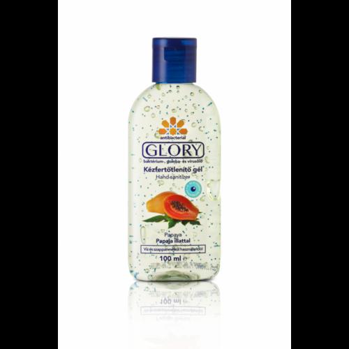 GLORY kézfertőtlenítő gél Papaja 100 ml