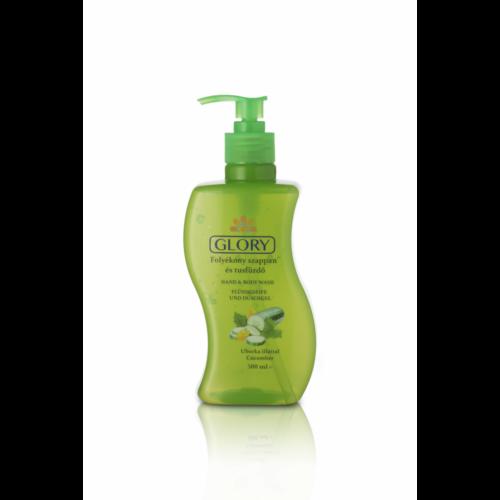 GLORY folyékony szappan és tusfürdő Uborka 500 ml