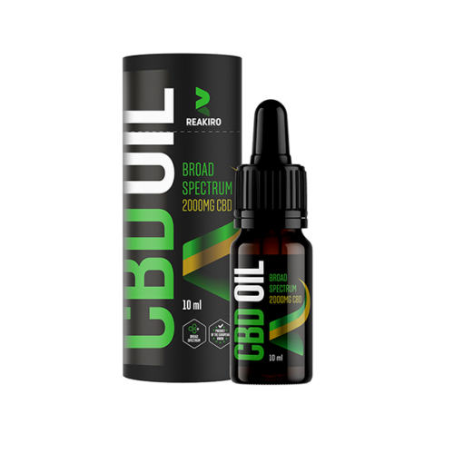 Reakiro CBD olaj 2000 mg 10 ml 20%