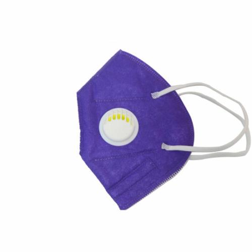 KN95 FFP2 lila szelepes maszk, 5 rétegű szájmaszk KN95 - 10 db