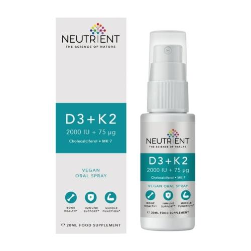 Neutrient D3+K2 vitamin spray