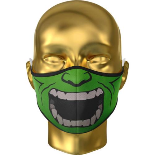 Green Monster félarc arcmaszk