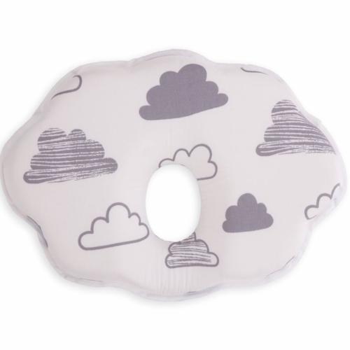 Kikkaboo párna memóriahabos laposfejűség elleni felhő alakú felhőmintás