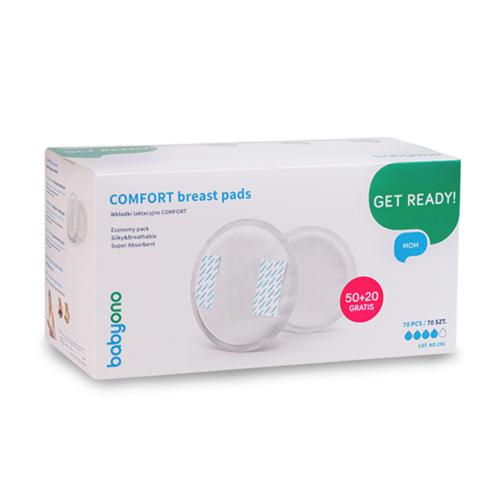 BabyOno melltartóbetét Comfort eldobható 50 plusz 20db