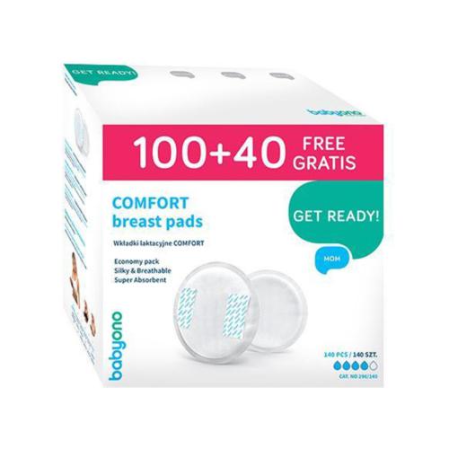 BabyOno melltartóbetét Comfort eldobható 100 plusz 40db