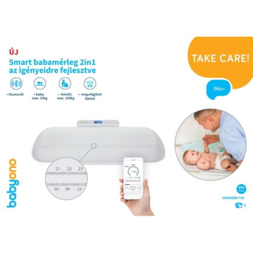 BabyOno babamérleg Smart digitális 2in1 bluetooth-os 789