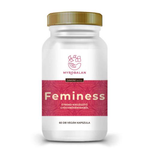 Feminess gyógynövény kapszula a könnyed változó korért