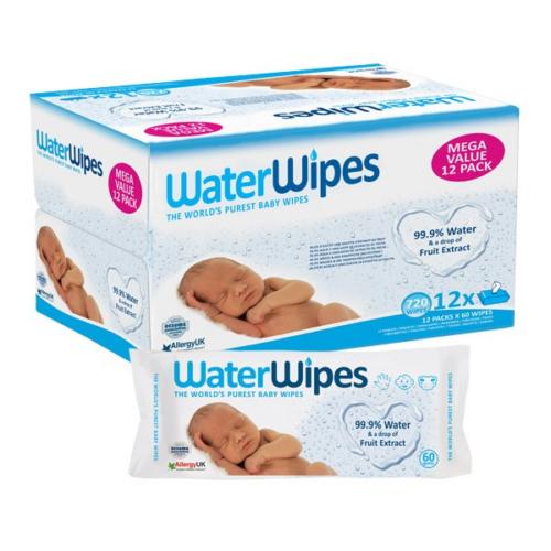 WaterWipes Babatörlőkendő Mega Pack