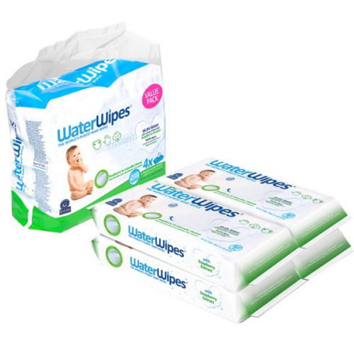 WaterWipes Szappanbogyó Törlőkendő Value Pack