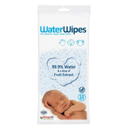 WaterWipes Nedves Törlőkendő Utazó Csomag