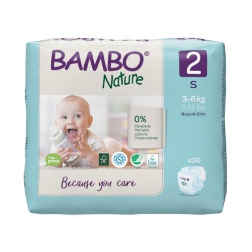 Bambo Nature öko pelenka 2, 3-6 kg, 30 db