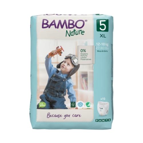 Bambo Nature Bugyipelenka 5, 12-18 kg 19 db
