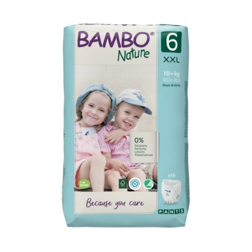 Bambo Nature Bugyipelenka 6, 18+ kg 18 db