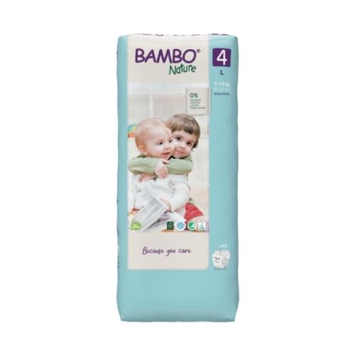 Bambo Nature öko pelenka 4, 7-14 kg Nagy Csomag, 48 db