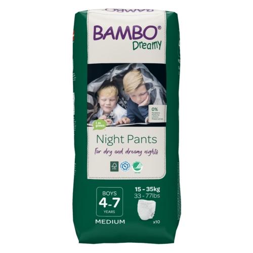 Bambo Dreamy éjszakai pelenka, Fiú 15-35 kg, 10 db