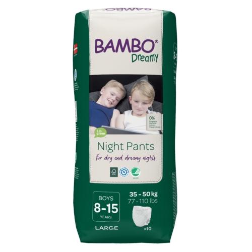 Bambo Dreamy éjszakai pelenka, Fiú 35-50 kg, 10 db