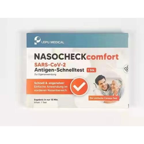 LEPU MEDICAL NASOCHECKcomfort SARS-CoV2- Antigen -  Koronavírus Teszt