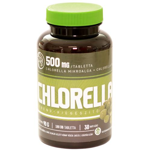 Mannavita CHLORELLA tabletta 500mg étrend-kiegészítő, 180db