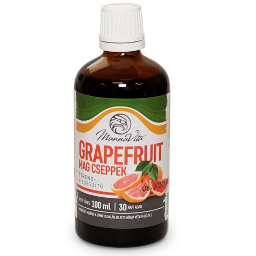 Mannavita Grapefruitmag kivonat csepp, 100ml