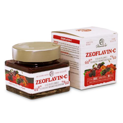 ZeoFLAVIN-C 10 féle gyümölcs koncentrátuma, 230g