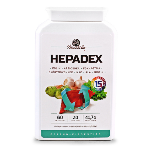 HEPADEX Májregeneráló, Májtisztító étrend-kiegészítő, 60db